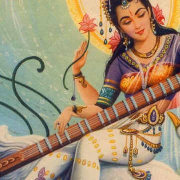 Saraswati as Aurobindo saw her