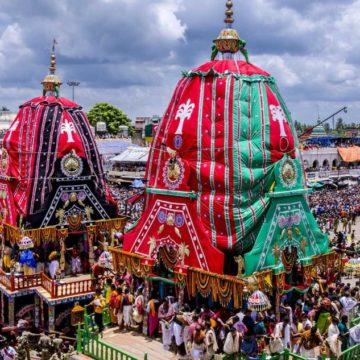 The Ratha-Yatra Festival at Jagannatha Puri