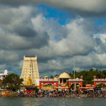 Footsteps of Ram at Rameshwaram